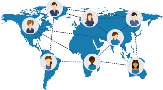 ネットワーク地図