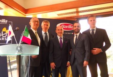イタリアNO.1 パスタ バリラ140周年記念レセプションパーティの画像