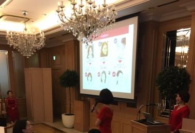化粧品新製品プレス発表会の画像